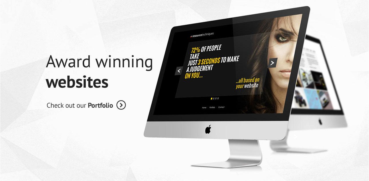 Award winning websites