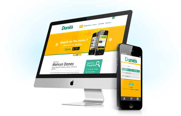Mobile websites for estate agents