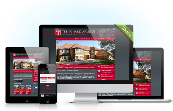 Websites for estate agents
