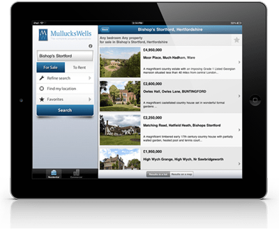 Resource Techniques - Estate Agent iPad Apps