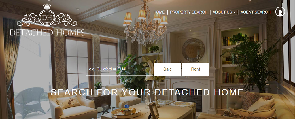 Detached Homes - Websites for Estate Agents
