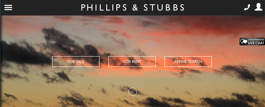 Phillips and Stubbs - Responsive Websites for Estate Agents