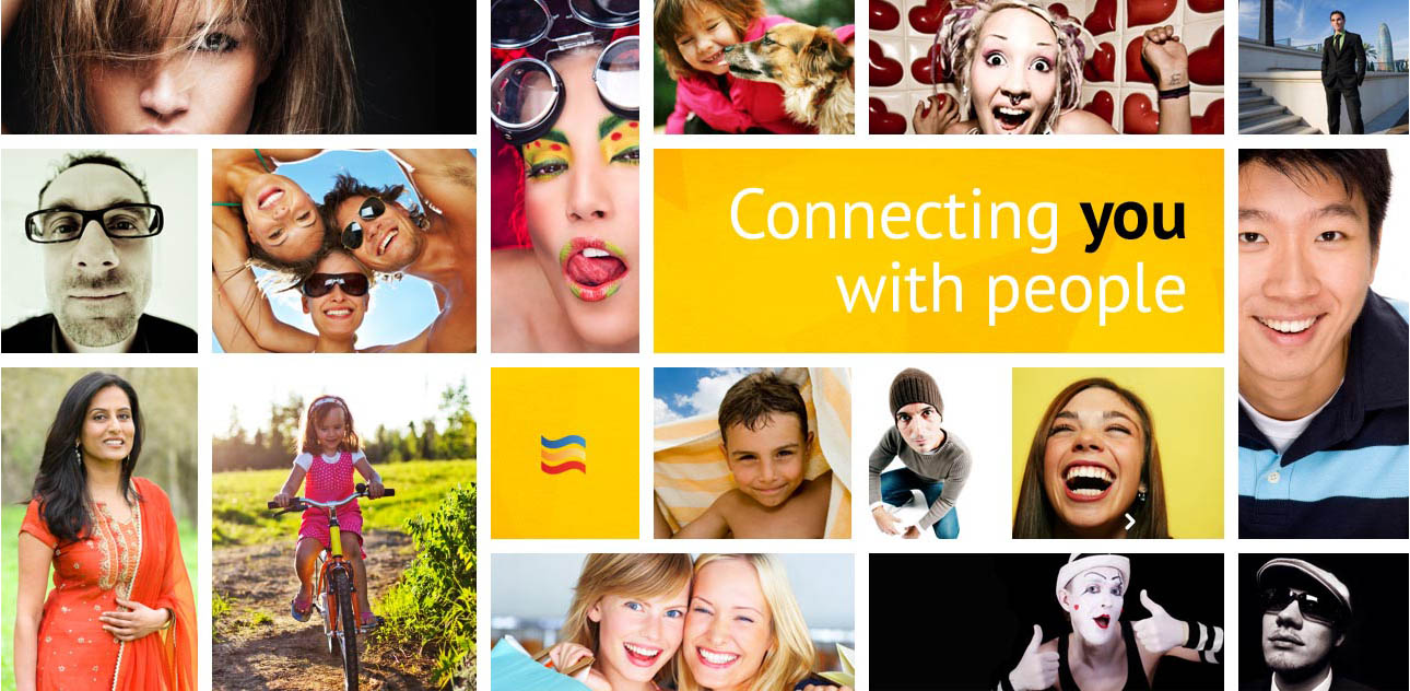 Connecting you with people