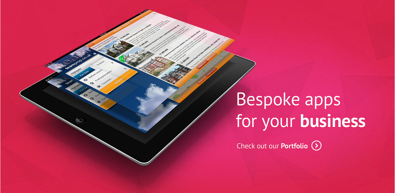 Bespoke apps for your business