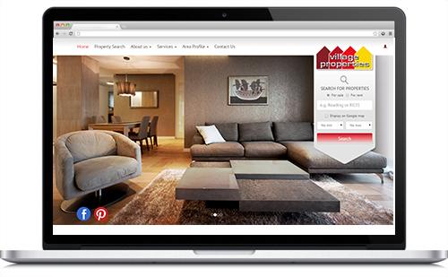 Estate Agent web design - Resource Techniques