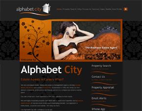 Alphabet City Estate Agents, Canary Wharf, London