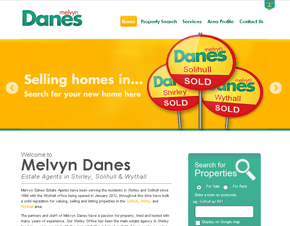 Melvyn Danes Estate Agents, Shirley, Solihull & Wythall