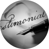 Testimonials - what our clients think